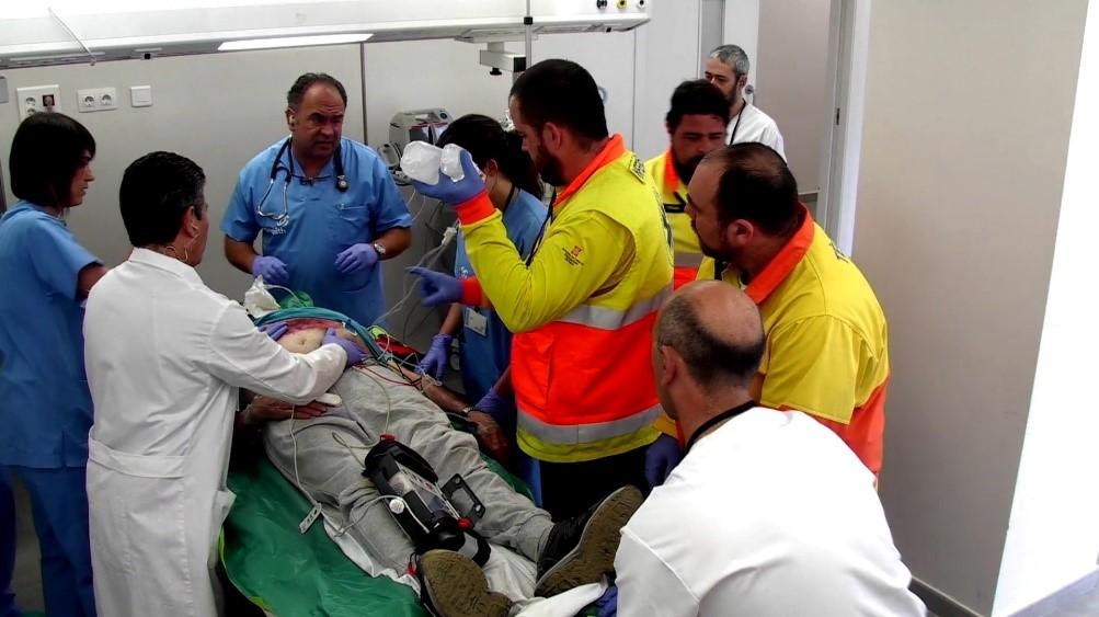 Entrenament d'equips interdisciplinars en urgències hospitalàries